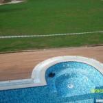 Teak Havuz Kenarı